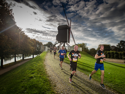 Urban Trail by Night en Great Bruges Marathon