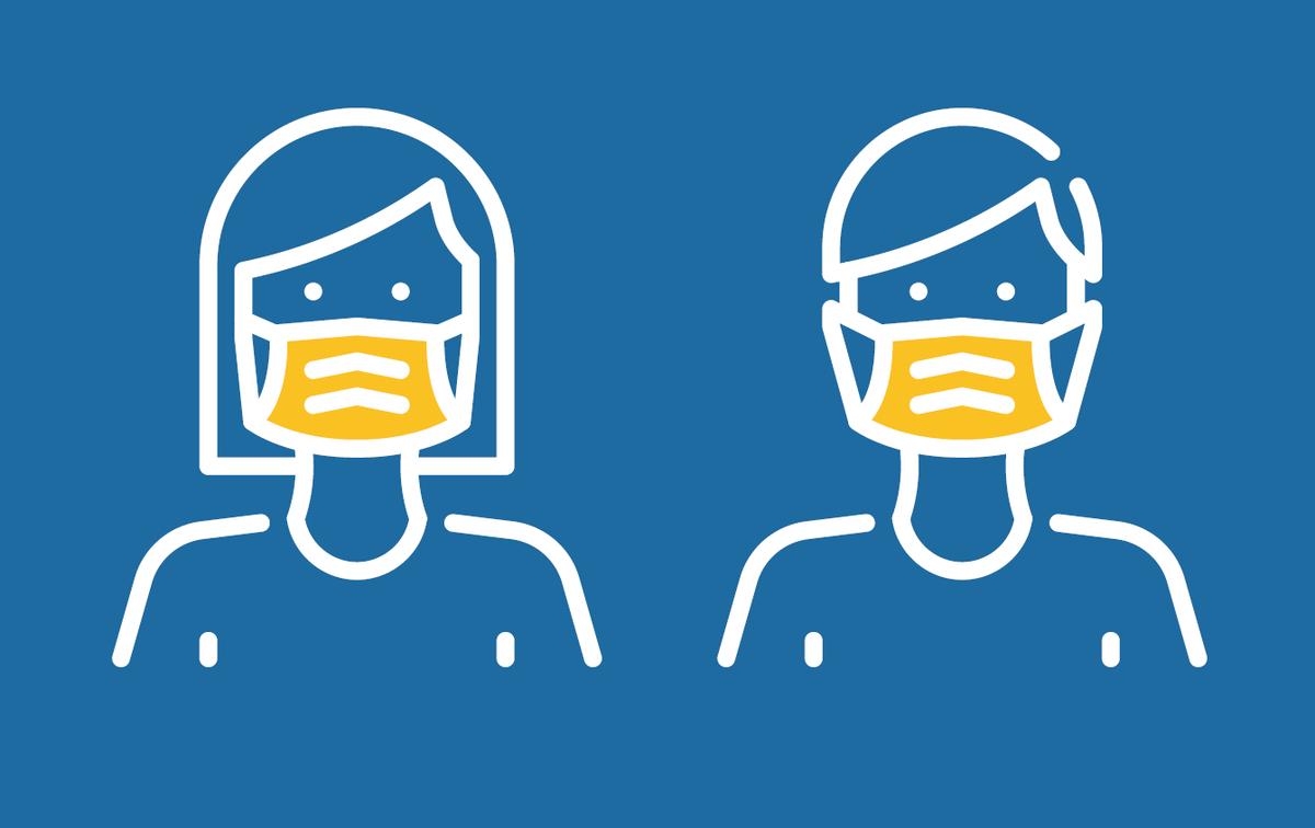Mondmaskers vanaf 11 juli verplicht in alle stadsgebouwen - Stad Brugge