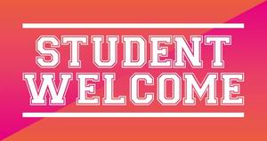 student welcome banner 2017