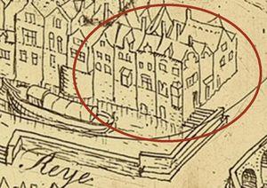 detail op kaart Marcus Gerard 1562
